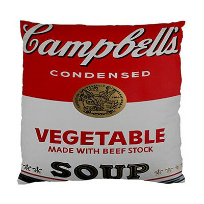 Campbell's Soup Logo Cushion Cover/Case Throw Pillow Case(Two Sides)-NEW