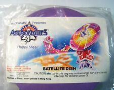 1991 McDonalds Happy Meal ASTRONAUTS Satellite Dish FREE SHIP Premium MIP C10!