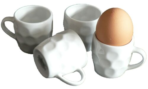 Dimple Tankard eggcups set of 4 mini dimpled tankard egg cups boxed or loose