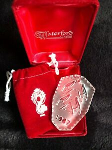 Waterford Crystal 12 Days of Christmas Ornament 1987 4 ...