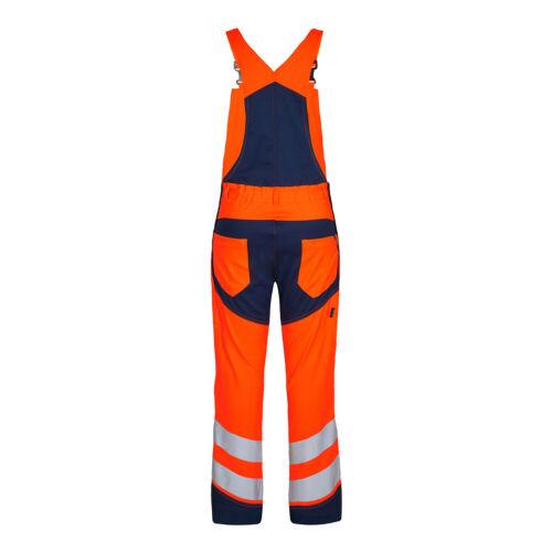 ENGEL Workwear Safety Latzhose Warnschutzkleidung Arbeitslatzhose Warnschutz