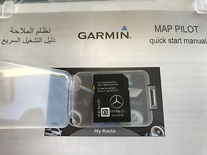 Africa middle east mercedes benz sd card garmin pilot v3 3 for Mercedes benz garmin sd card