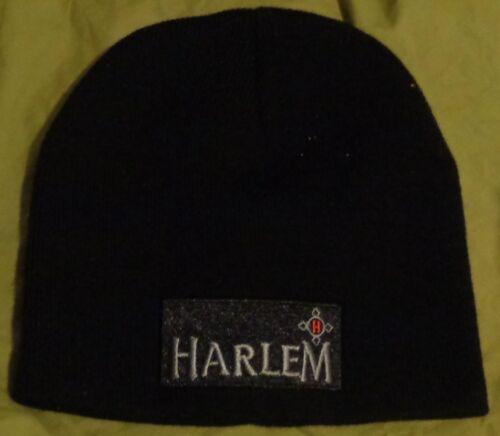 Knit Winter Style hat cap...Black...NEW Harlem Liqueur