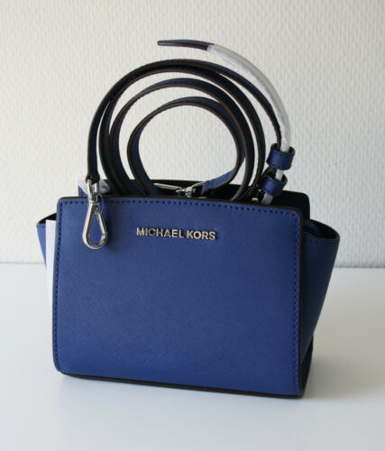 Michael Kors Tasche Selma 35h8slmc0l Sapphire