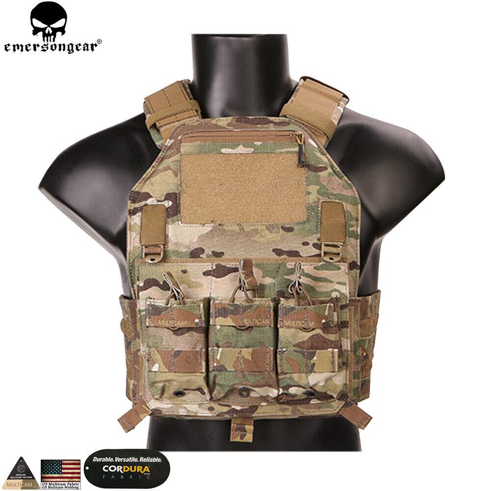 Chaleco Portador de Placa 420 pecho plataforma de combate táctico Molle Engranaje al aire libre Airsoft Camo