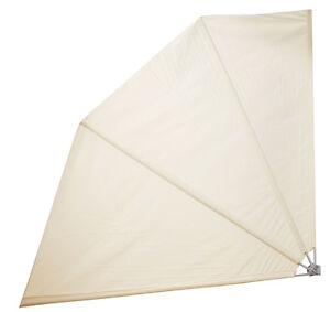 Sichtschutz Facher 214x214 Cm Sonnenschirm Wandklappschirm
