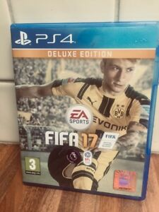 FIFA 17-Deluxe Edition (PS4