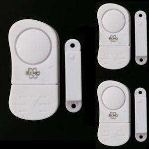 Humble 3 X Porte-et Fenêtre Alarme Türalarm Alarme Porte Fenêtre Sécurité Alarme Maison-afficher Le Titre D'origine Forte RéSistance à La Chaleur Et à L'Usure