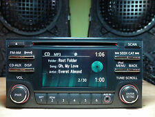 "Nissan Rogue 2012-2015 CD MP3 player XM radio w/front AUX 4.3"" display TESTED"