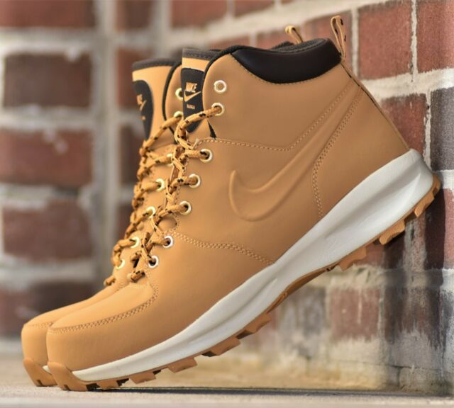 Nike Men's Size 14 Manoa Leather Work BOOTS Shoes Haystack
