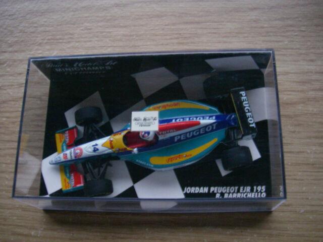 Minichamps Jordan Peugeot EJR 195 Rubens Barrichello