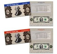 2014 2$ Single Note Collection