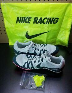 selezionare per lo spazio buona reputazione nuova selezione Nike Zoom Rival M 8 Women Spike Racing Shoes 806559 005 Gray Green ...