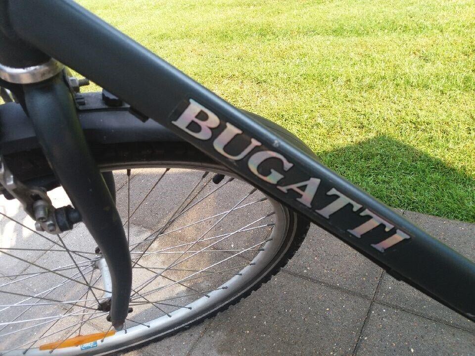 Herrecykel, Bugatti Citybike, 53 cm stel