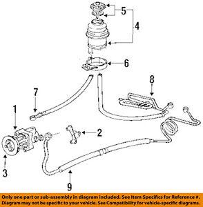 bmw oem 1993 318i power steering pressure hose 32411138802 ebay rh ebay com 1993 BMW 318Is Coupe 1993 bmw 318i engine diagram