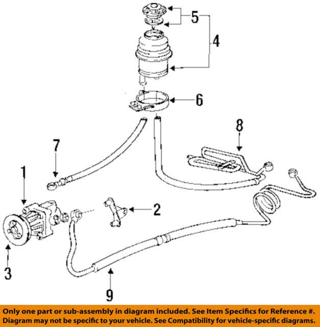 engine power steering system diagram