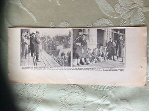 a2a-ephemera-1918-ww1-picture-british-sailors-p-o-ws-arrive-hull-van-donop