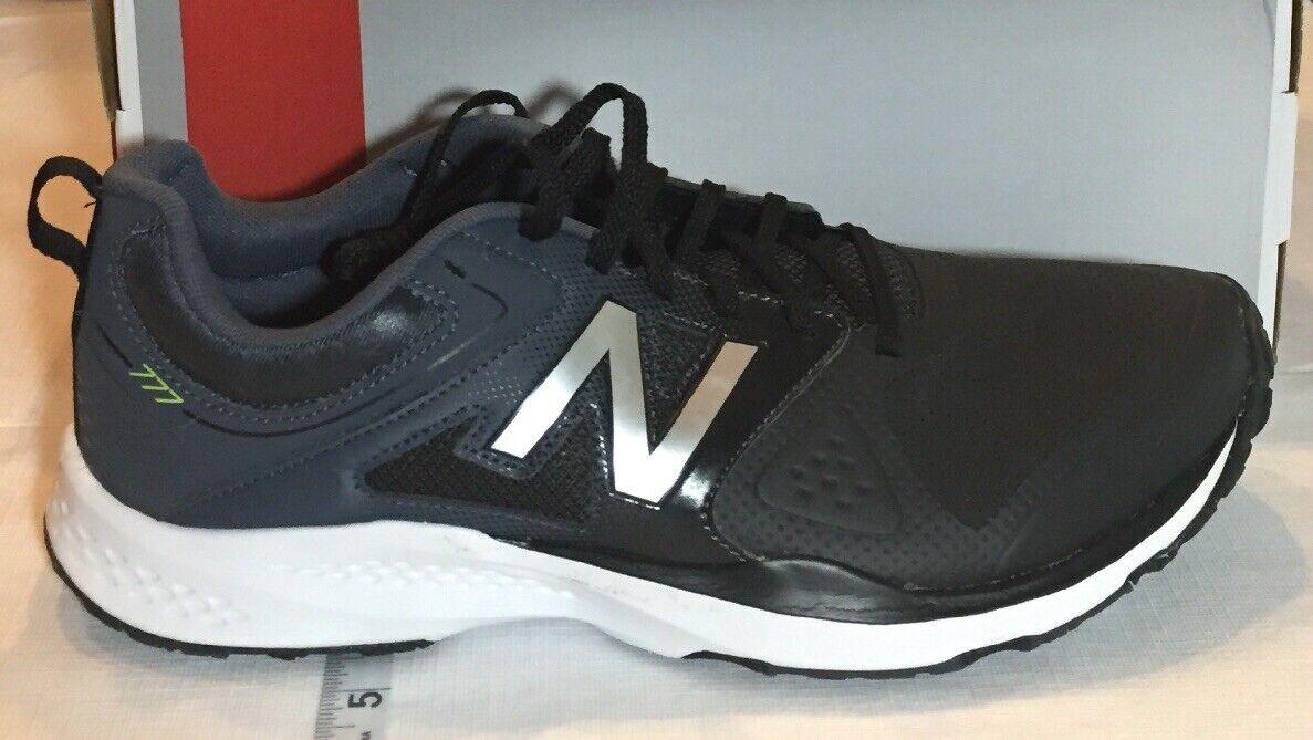 New Balance Running shoes Mens 11 D M 777 Black Grey NEW MX777BF Performance