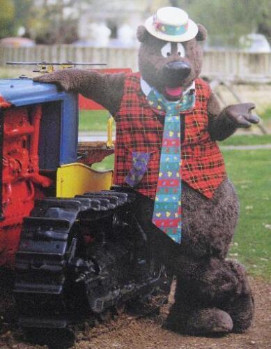Poster Humphrey B Bear Tractor Adelaide Australian Icons Nine Network