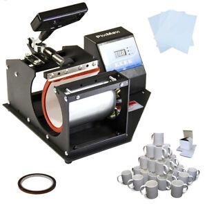 Prensa-de-Calor-para-Tazas-PixMax-72-Tazas-y-Abrazadera-para-Tazas-de-325ml
