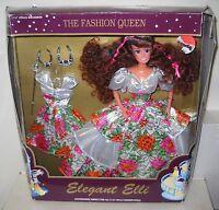 2983 Vintage Elegant Elli The Fashion Queen Doll W/extra Fashion & Jewelry