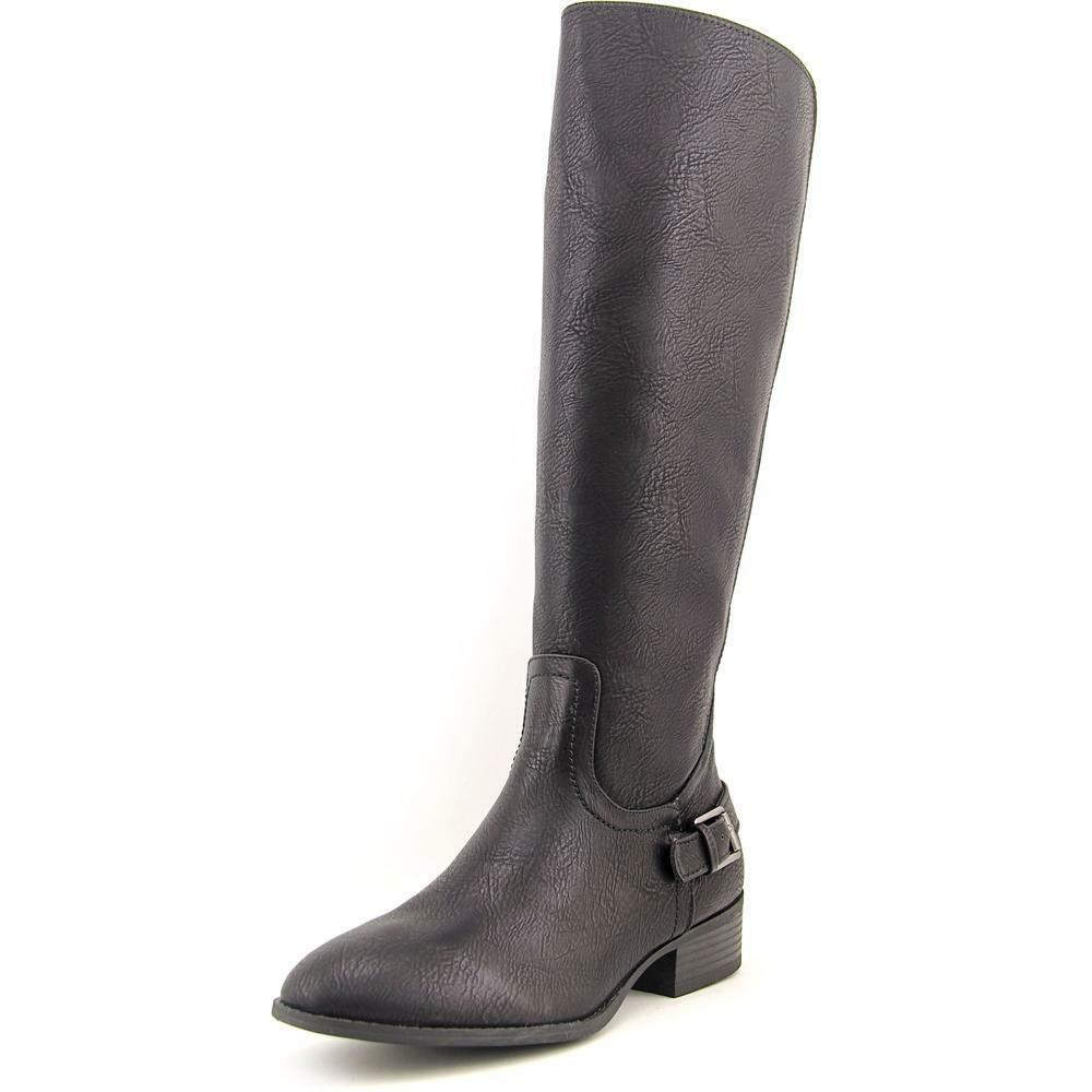 Chaps Galyn Women's Brown Round Toe Knee High Boots Size 8B