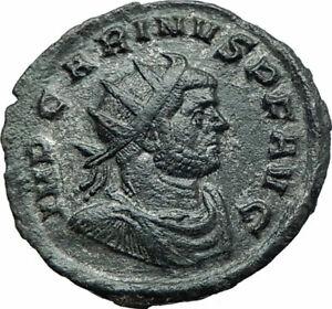 CARINUS-Authentic-Ancient-283AD-Genuine-Original-Roman-Coin-w-FELICITAS-i78753