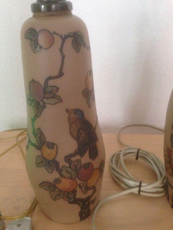 Anden bordlampe, Hjorth keramik