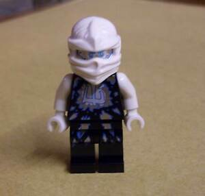 Zane Lego Ninjago Neu Titanium Ninja White Figur weiss silber Sane Zän