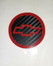 4 Chevy Bowtie 35 Carbon Fiber Center Cap Decals Stickers Logo Color Chart