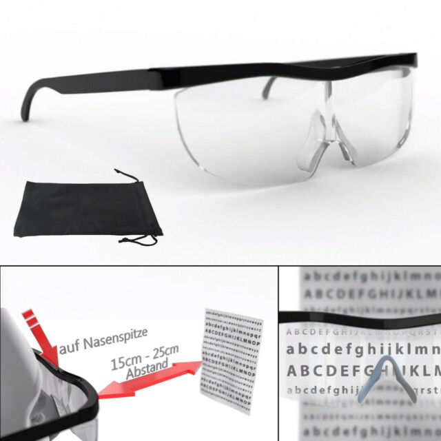 Magnifier Headband with LED Light Head Mounted Magnifying Glasses 8X 15X 23X