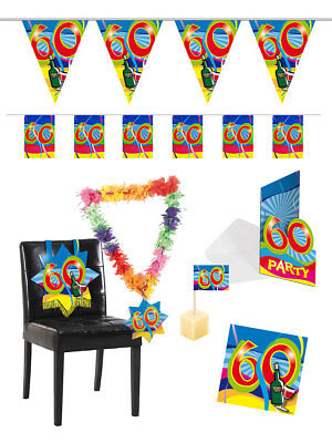 """Geburtstag Dekoration Party Zahl """"60"""" Chinesische Aromen Besitzen"""