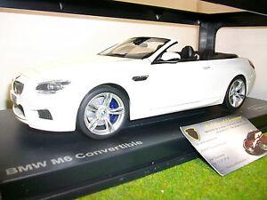 BMW-M6-F12M-CABRIOLET-blanc-LHD-1-18-PARAGON-PA-97061-voiture-miniature-collec