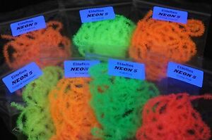 *** 2 METRES OF 15MM TRANSLUCENT BOOSTED BLOB//SUPER ICE FRITZ FOR FLY TYING ***