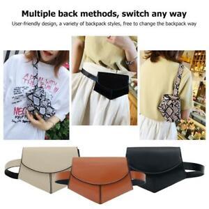 Women-Girls-Leather-Waist-Fanny-Belt-Packs-Small-Chest-Shoulder-Bag-Tote-Purse