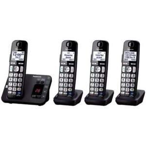 Panasonic-KX-TGE234B-DECT-6-0-Expandable-Cordless-Phone-System
