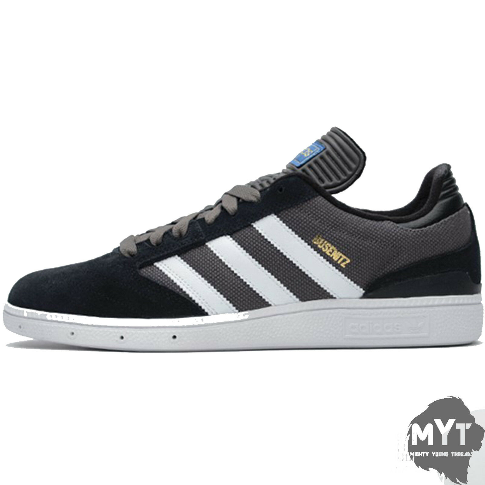 Nuove adidas originali busenitz mens tennis scarpe formatori nero grigio grigio grigio | modello di moda  | Gentiluomo/Signora Scarpa  843ac9