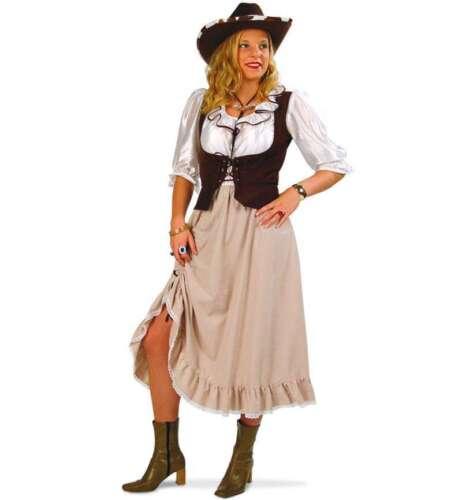 KarnevalsTeufel Western Lady Cowgirl Western Kleid Karneval Fasching 1211510G13