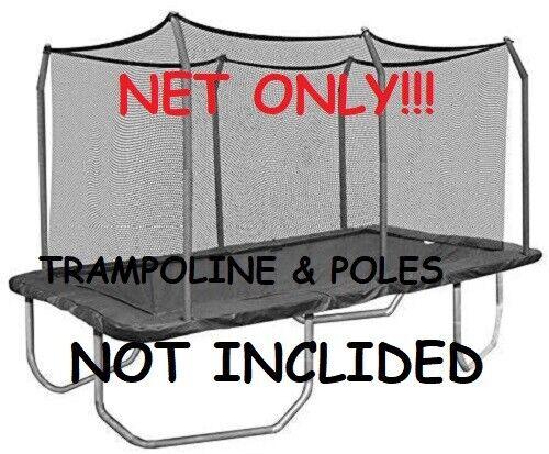 Skywalker Trampolines 14 ft Rectangle Replacement Enclosure Black 13/' 15/'