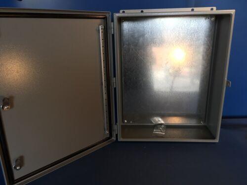 20X16X7 NEW HOFFMAN SATINLESS DI-99907S201606SS-2BM10 NEMA 4//4X//12 ENCL