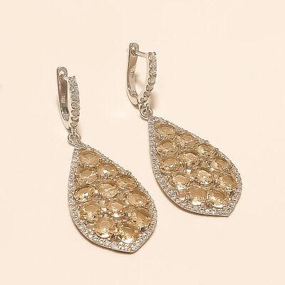 Jewelry & Watches Natural Brazilian Peach Morganite Earrings Pendant Women Fine Jewelry Set Gifts Bridal & Wedding Party Jewelry