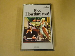 MUSIC-CASSETTE-10CC-HOW-DARE-YOU