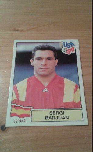 N°193 SERGI BARJUAN # ESPANA PANINI USA 94 WORLD CUP ORIGINAL 1994