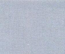 28 Count Dusk Blue Evenweave Cross Stitch Fabric Fat Quarter 50cm x 55cm