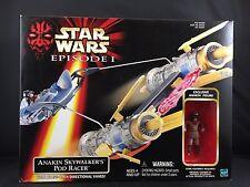NEW Star Wars Episode 1 Anakin Skywalker's Pod Racer Vehicle Action Figure I