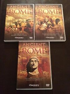 Ancient Rome DVD 2007 3Disc Set discovery channel region 2 uk dvd - Warlingham, United Kingdom - Ancient Rome DVD 2007 3Disc Set discovery channel region 2 uk dvd - Warlingham, United Kingdom