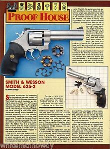 1989-SMITH-amp-WESSON-Model-625-2-Revolver-2-page-Evaluation-Article