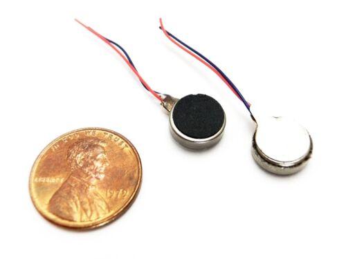 10pcs 3x10mm 1.5-3V Coin//Pancake Pager Vibration Bristle Bot Motor US Seller
