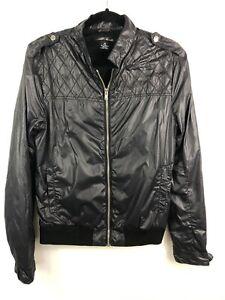 Details about Mens ALLSAINTS Black Bomber Jacket Size M