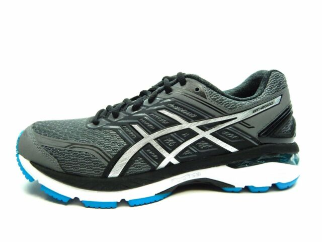 d8d09382ca ASICS T710n 9793 Gt-2000 5 Carbon / Blue Men's Running Shoes Size 8 US B